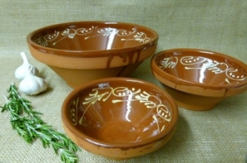 Decorative Bowl Set - Badajoz - 15cm 18cm 28cm