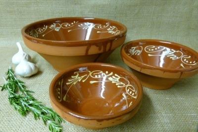Decorative Bowl Set - Badajoz - 15cm 18cm 28cm