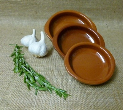 Cazuela Set with Handles - 10cm 12cm and 14cm