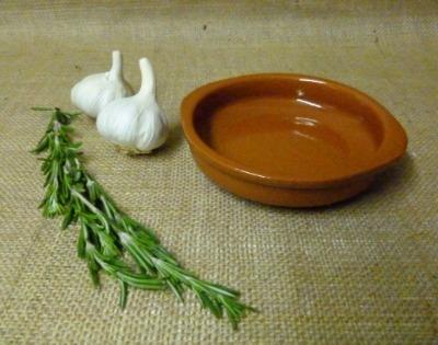 Cazuela Terracotta Tapas Dish 14cm with Handles