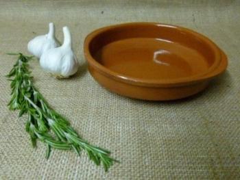 Cazuela Terracotta Tapas Dish 18cm with Handles