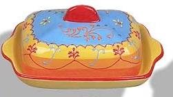 Butter Dish - Huelva