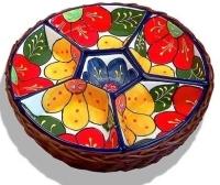 Snack Bowls in Basket - Lerida