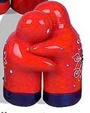 Hugging Salt and Pepper Pots - Malaga