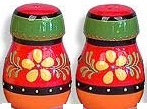 Salt and Pepper Pots - Orense