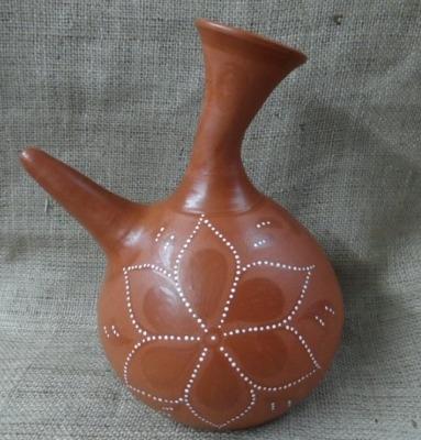 Terracotta Wine Porron