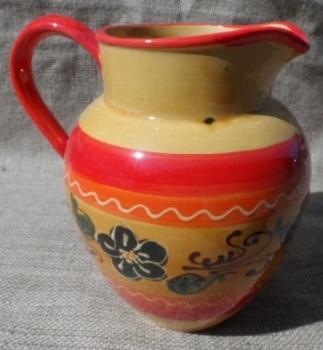 Glazed Handpainted 2 litre Sangria Jug - Madrid