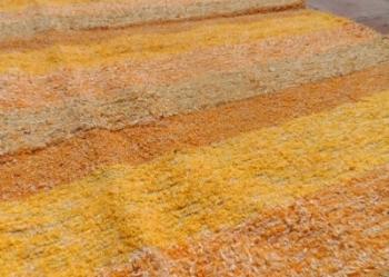200x140cm Jarapa Rug Yellow