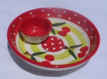 Alfarnate 17cm Olive Dip Bowl