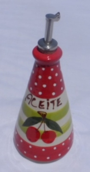 Alfarnate 17cm Conica Olive Oil Bottle