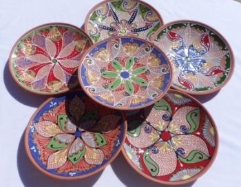 Navarra Plates - Set of 6