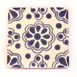 10.5cm Handpainted Tile - 02*