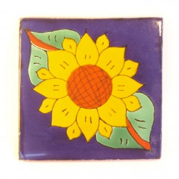10.5cm Handpainted Tile - 03*
