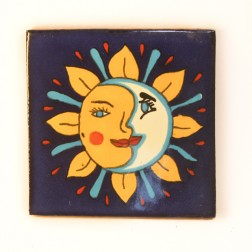 10.5cm Handpainted Tile - 08*