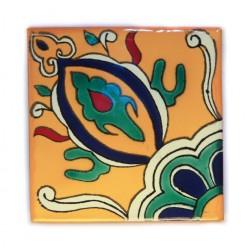 10.5cm Handpainted Tile - 15*