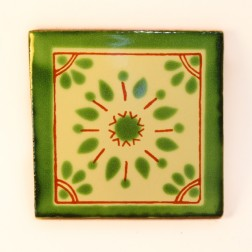 10.5cm Handpainted Tile - 16*