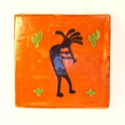 10.5cm Handpainted Tile - 20*
