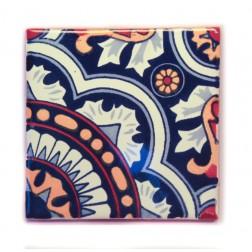 10.5cm Handpainted Tile - 22*