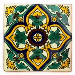10.5cm Handpainted Tile - 24*