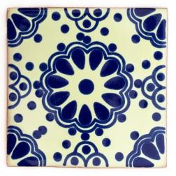 10.5cm Handpainted Tile - 27*