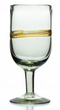 Wine Glass - Multi Stripe