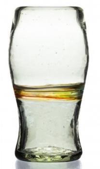 'Pint' Glass - Multi Stripe