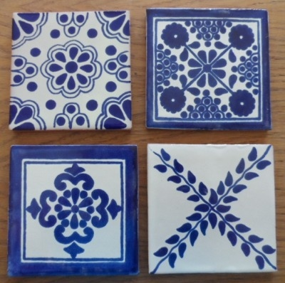Coaster Set 2 - Blue