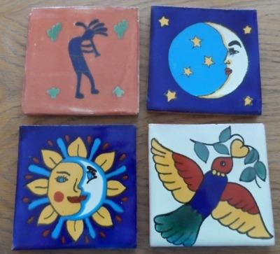 Coaster Set 3 - Characters
