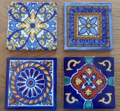 Coaster Set 4 - Traditional Patterns