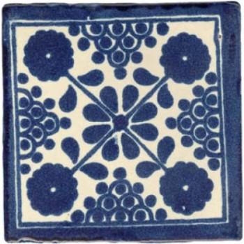 10.5cm Handpainted Tile - M033
