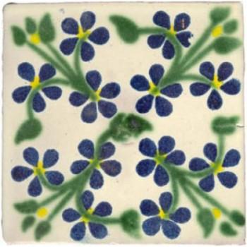 10.5cm Handpainted Tile - M040