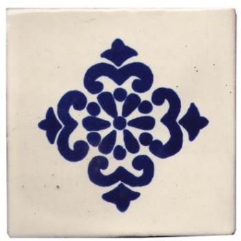 10.5cm Handpainted Tile - M065