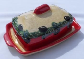 Jaen Butter Dish