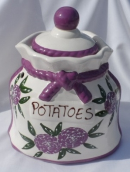 Grazalema Potato Crock Storage Jar
