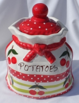 Alfarnate Potato Crock Storage Jar