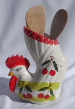 Alfarnate Chicken Utensil Holder