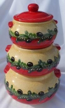 Jaen 3-Tier Vegetable Crock