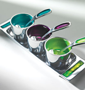 Enamelled Aluminium Pickle Dip Tray