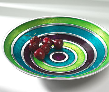 Enamelled Aluminium Salad Bowl
