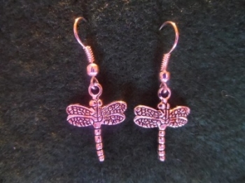 Dragonfly Charm Earrings
