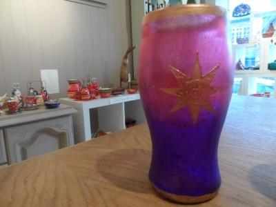 Handpainted Star 'Pint' Glass
