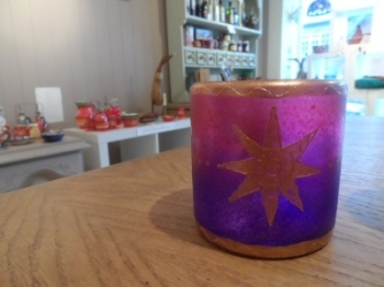 Handpainted Star Tumbler