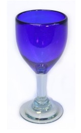 Wine Glass - Blue