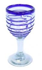 Wine Glass - Spiral