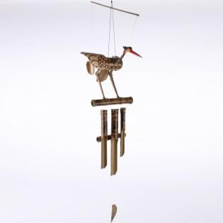 Bamboo Bird Windchime