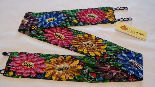 Hand-beaded Belt 5