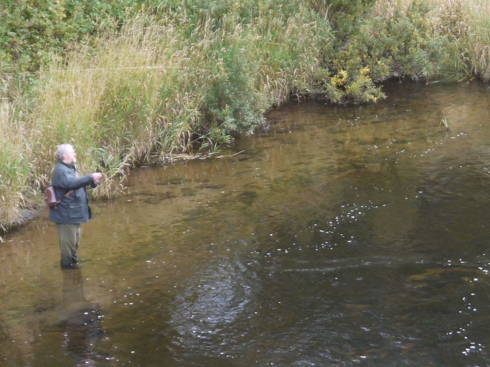 day 4 river clyde wading