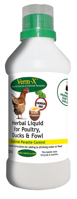 Verm-X Liquid for Poultry 500ml