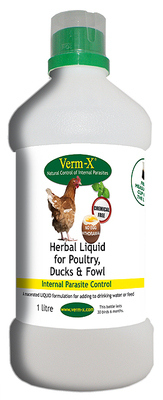 Verm-X Liquid for Poultry 1 litre