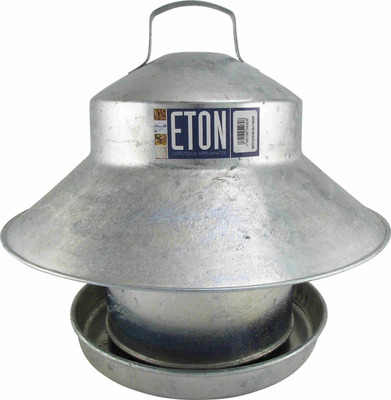 Galvanised Covered Feeder 15lb (6.7kg)